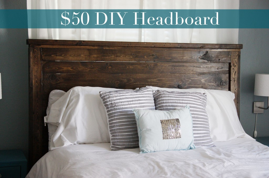 DIY Queen Headboard {Building} | BeingBrook