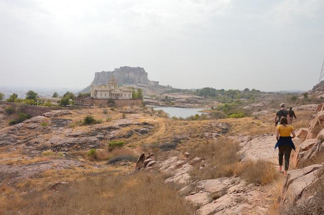 Parc naturelle de 72 hectares aux alentours du Fort Mehranghar à Jodhpur
