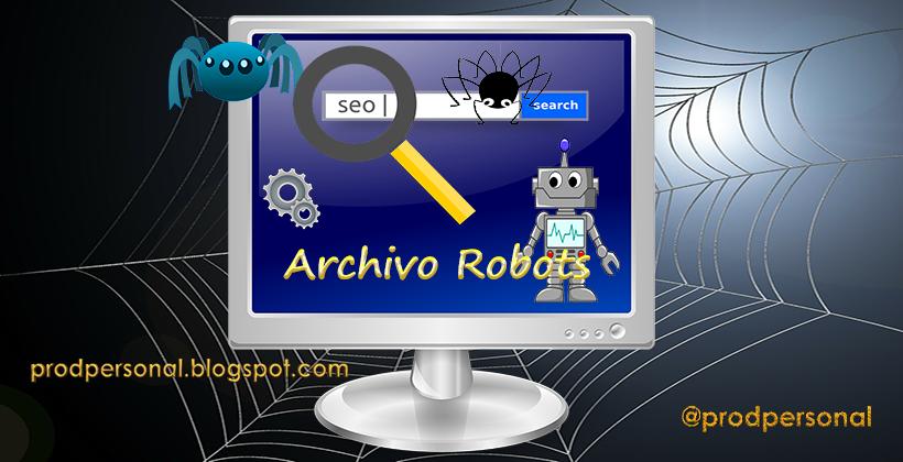 Crear el archivo robots del blog