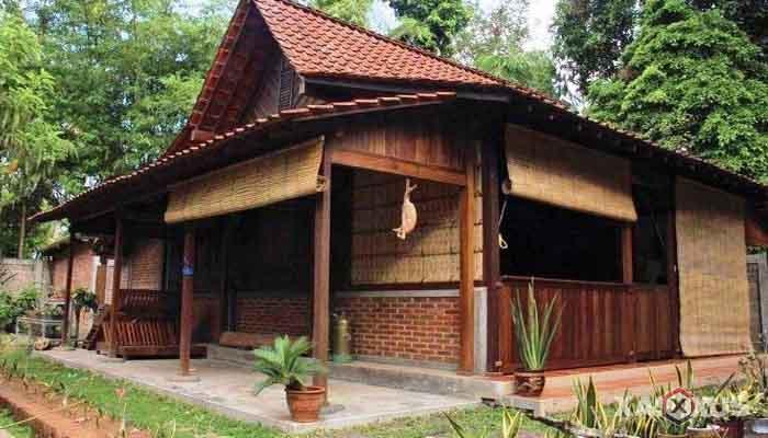 Gambar rumah adat Indonesia - Rumah adat Jawa Barat atau Rumah Jolopong