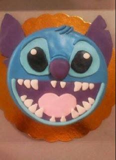 kue ultah stitch