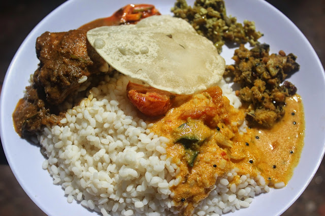 Naadan Oonu Traditional Kerala Lunch