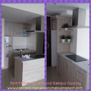 Gambar kitchen set murah model Island. jakarta utara