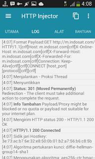 Catatan aplikasi http injector