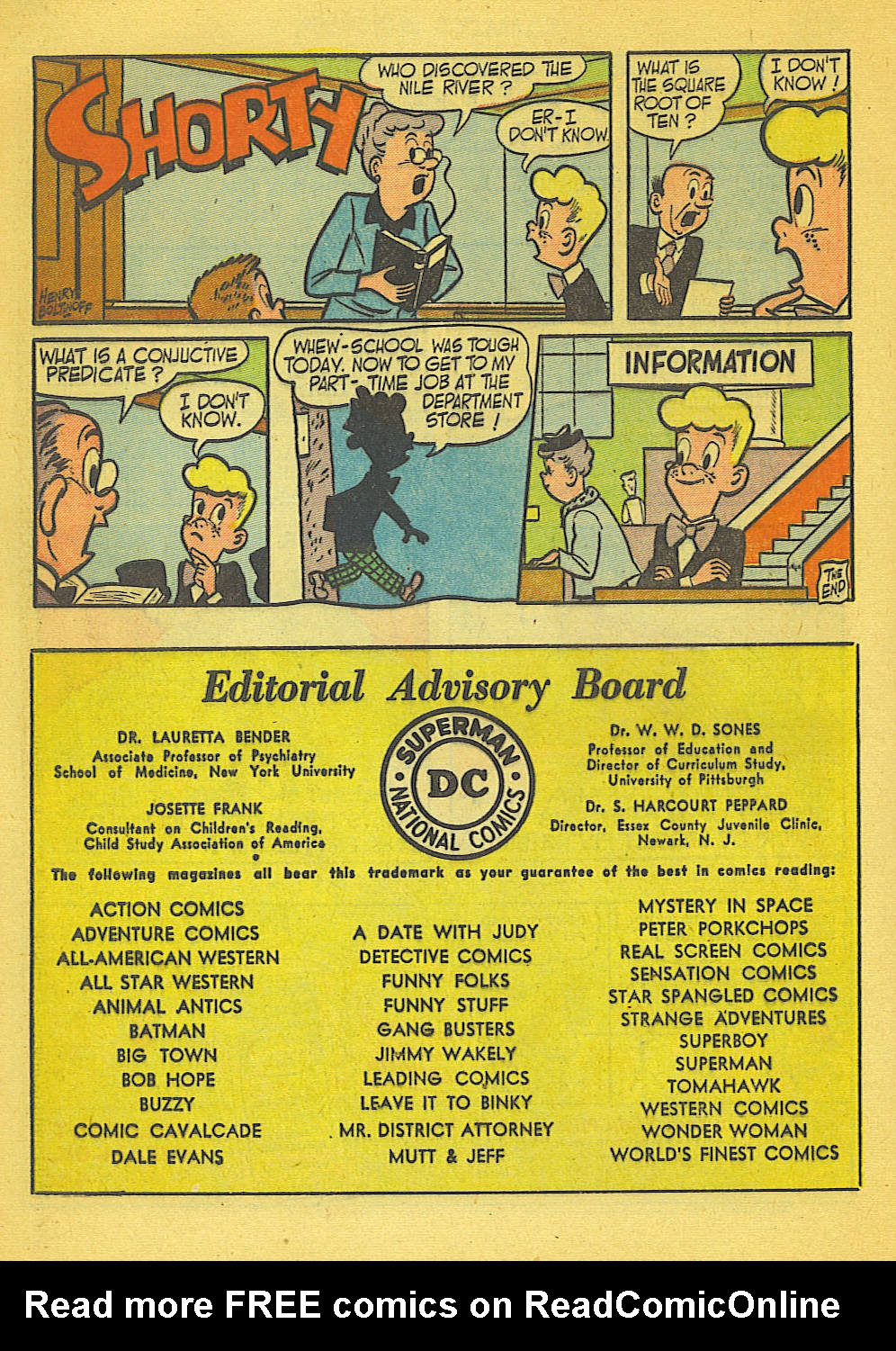 Read online Action Comics (1938) comic -  Issue #158 - 35