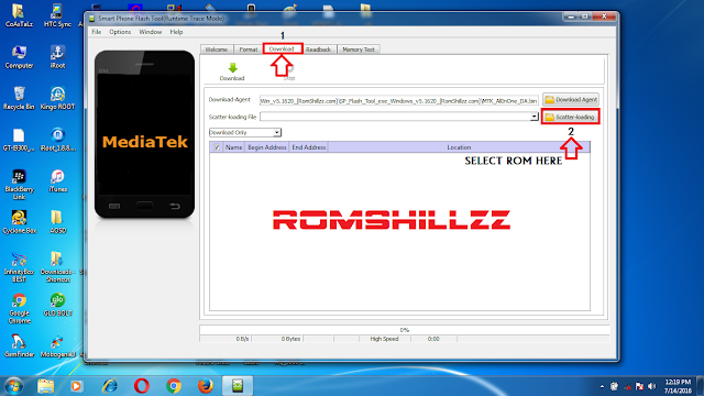 How To Flash MTK Android Phones with SP Flash Tool 1