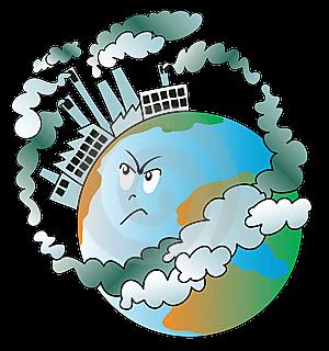 render contaminación