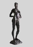 edith_lafay_sculpture_figurative_bronze_julie