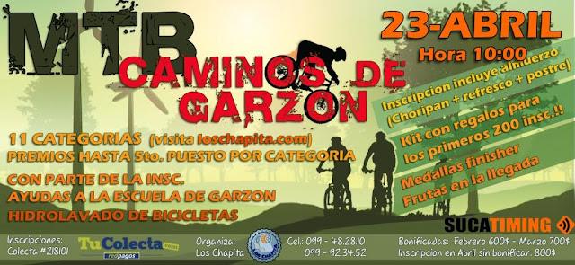 MTB - Caminos de Garzón (Maldonado, 23/abr/2017)