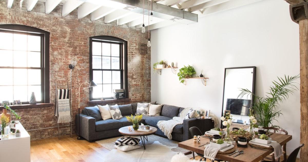 loft w brooklynie bajkowe wn trza. Black Bedroom Furniture Sets. Home Design Ideas