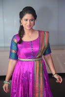 Shilpa Chakravarthy in Purple tight Ethnic Dress ~  Exclusive Celebrities Galleries 048.JPG