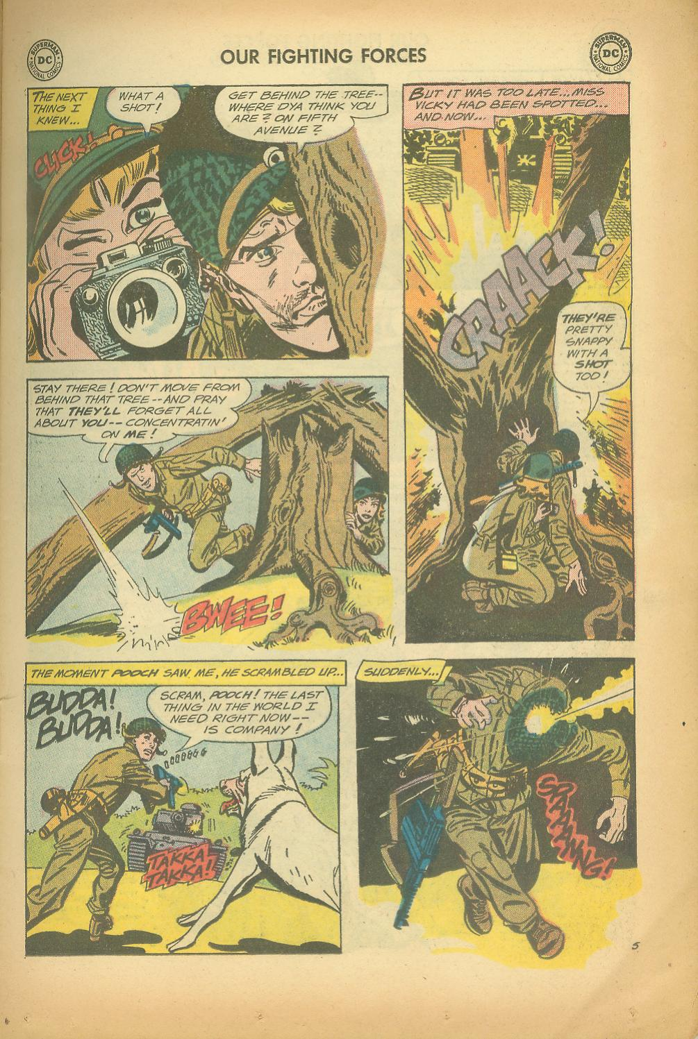 Our Fighting Forces (1954) issue 65 - Page 7