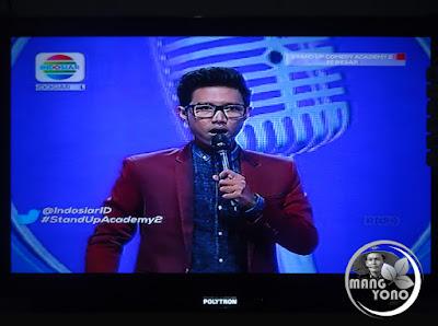 Adit Nganga Gantung Mic Stand Up Comedy Academy ( SUCA ) 2, 16 Besar, Grup 1