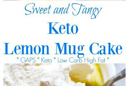 Keto Lemon Mug Cake Recipe