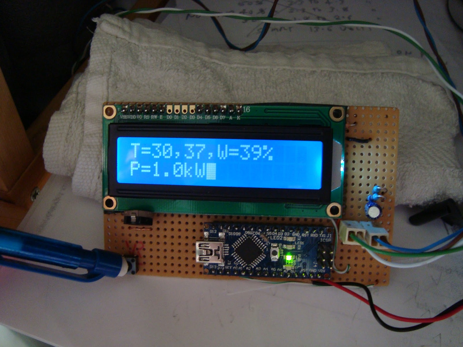 Solar Charger Monitor Circuit Simple Battery Monitor Circuit Battery