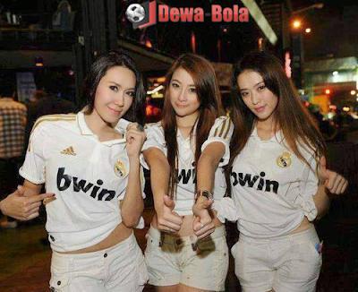 suporter cewek trio-real madrid indonesia