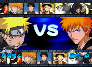 One Piece vs Naruto vs Bleach