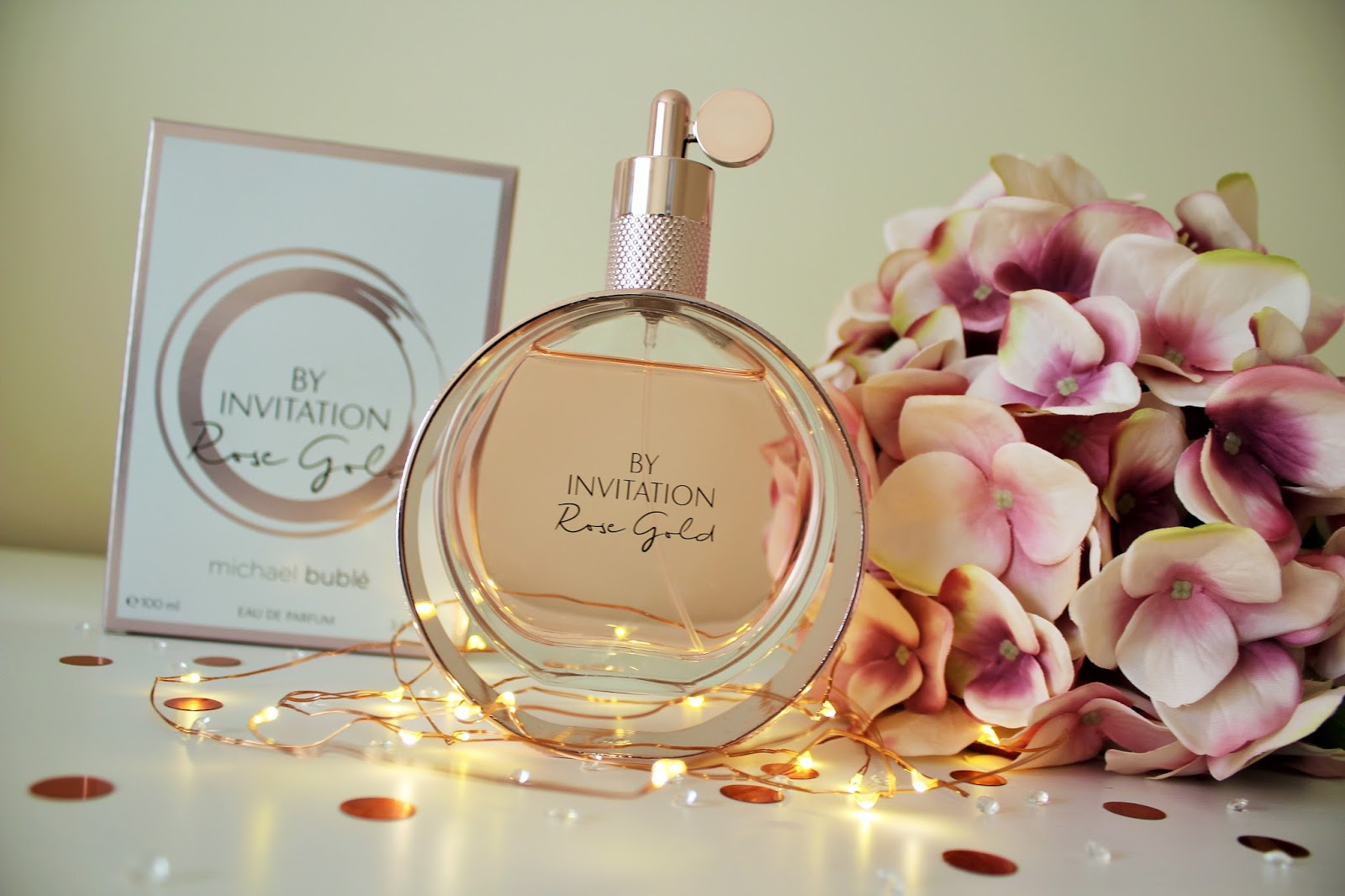 Michael Buble By Invitation Rose Gold Perfume Review - 1