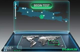 Speedtest Kecepatan Internet Paling Akurat