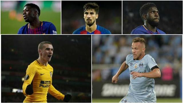 """Barca """"thay máu"""" vì Messi: 10 người """"ra đường"""", dàn tân binh 163 triệu bảng 2"""