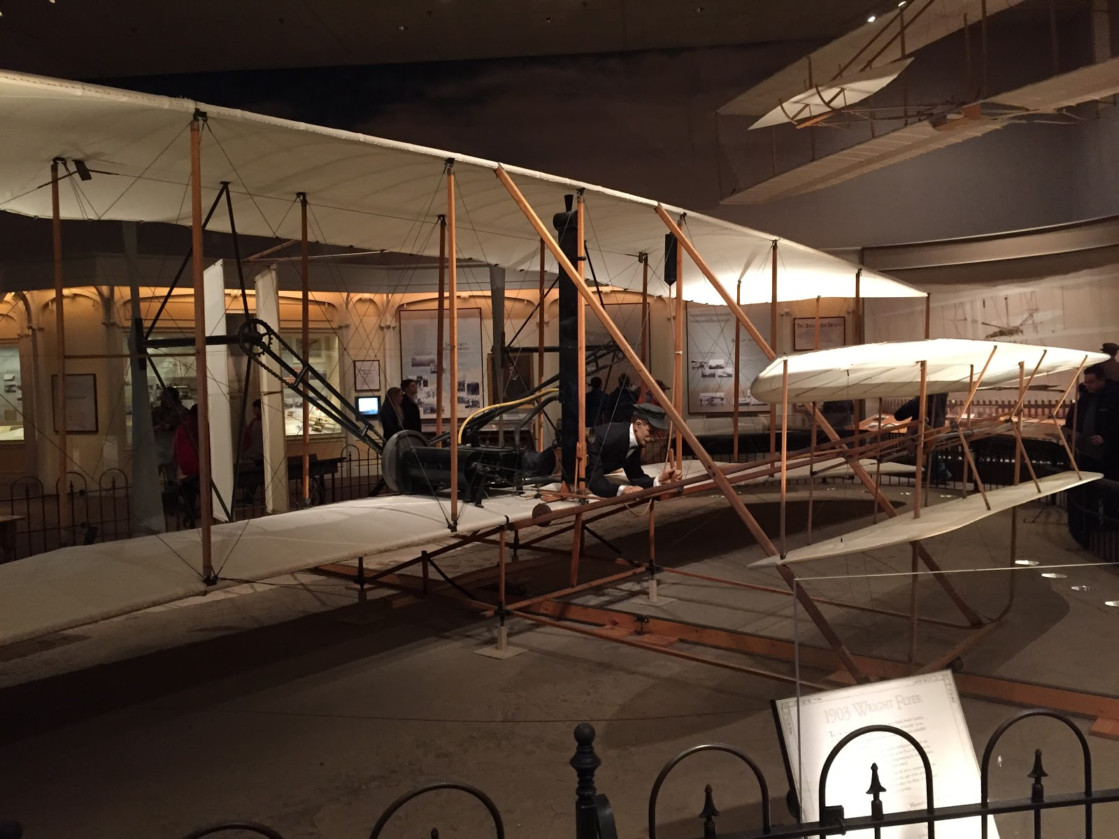 wright flyer 1903 in museum