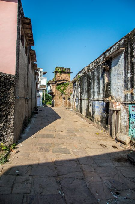 Lanes of Chanderi