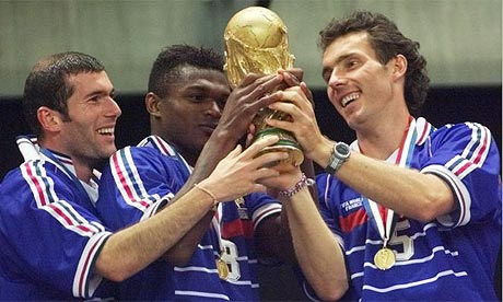 France Winning World Cup 1998