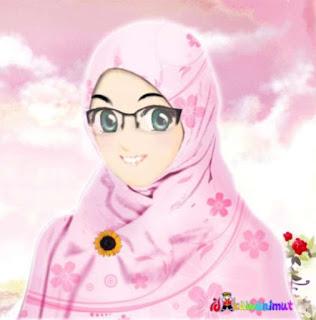 kartun muslimah gratis terbaru