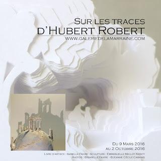 """Exposition """"Sur les traces d'Hubert Robert"""", Galerie de la Marraine, produits dérivés haut de gamme inspirés par l'univers du peintre"""