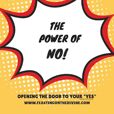The Power of No: Opening the Door to Your Yes by Blogger Trinka Polite