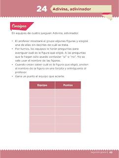 Apoyo Primaria Desafíos Matemáticos 2do Grado Bloque 2 Lección 24 Adivina, adivinador