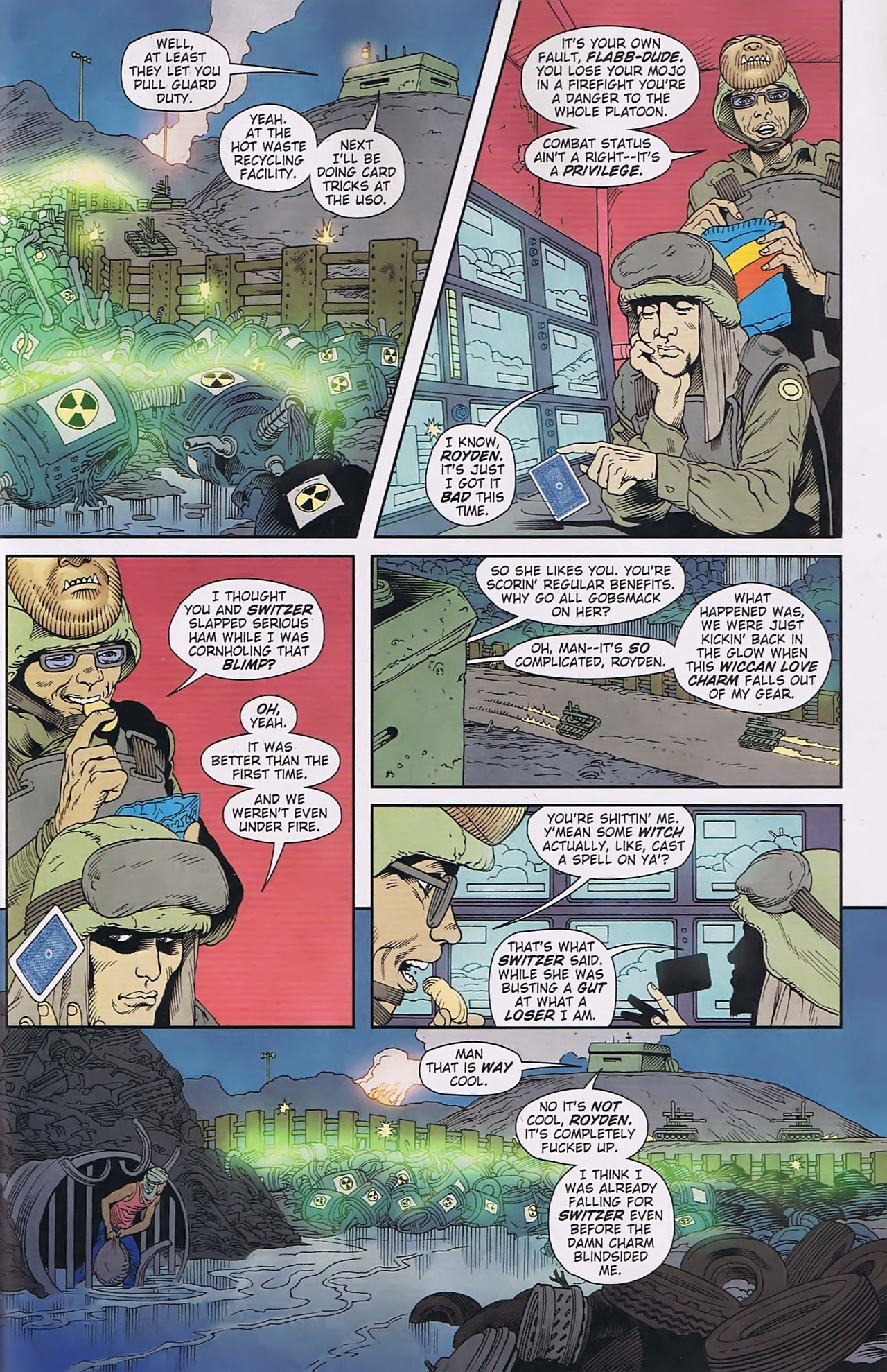 Read online Army @ Love comic -  Issue #6 - 16