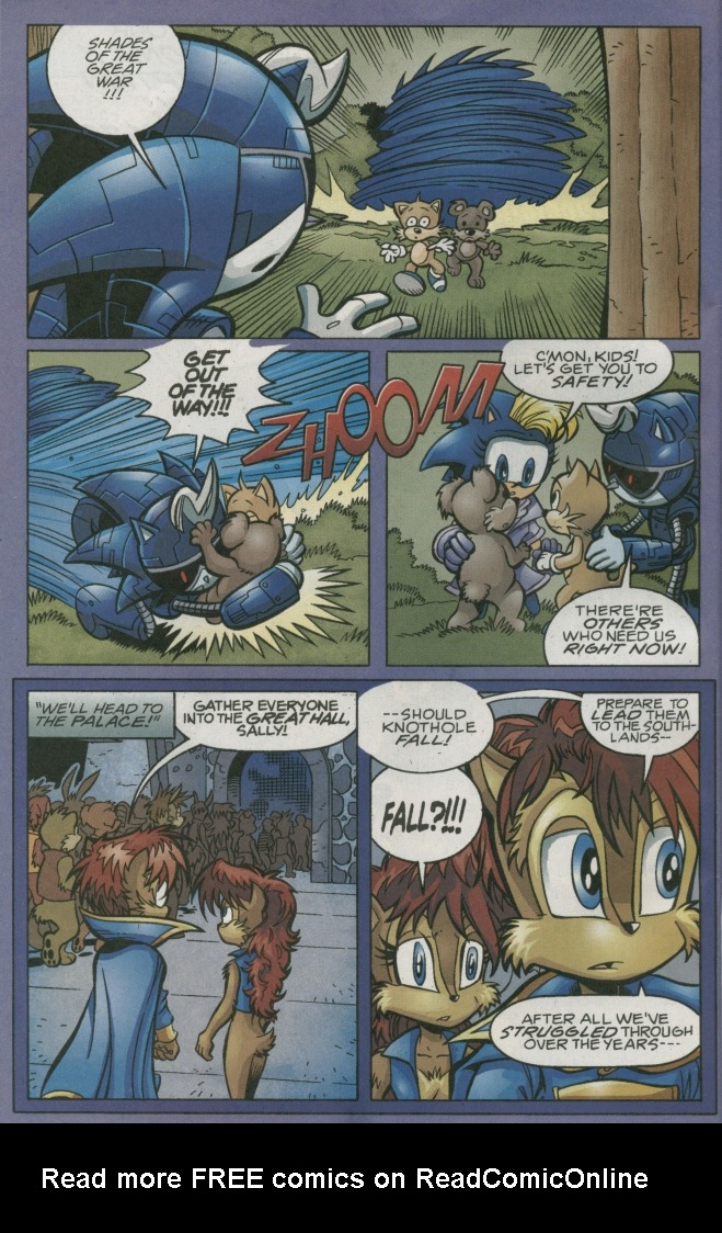 Read online Sonic The Hedgehog comic -  Issue #158 - 26