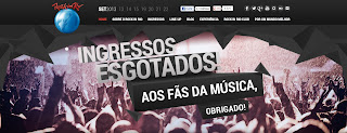 Revender ingressos do Rock in Rio na web pode ser considerado crime; entenda