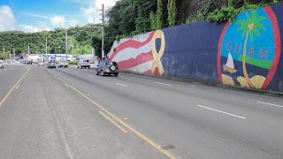 Guam Symbol Wall