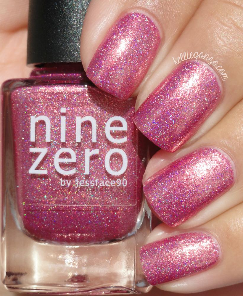 Nine Zero Lacquer Pink Christmas