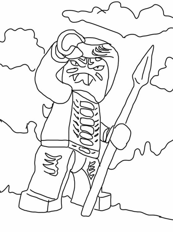 ninjago coloring pages kai 2015 exo | schlangen bilder zum ausmalen