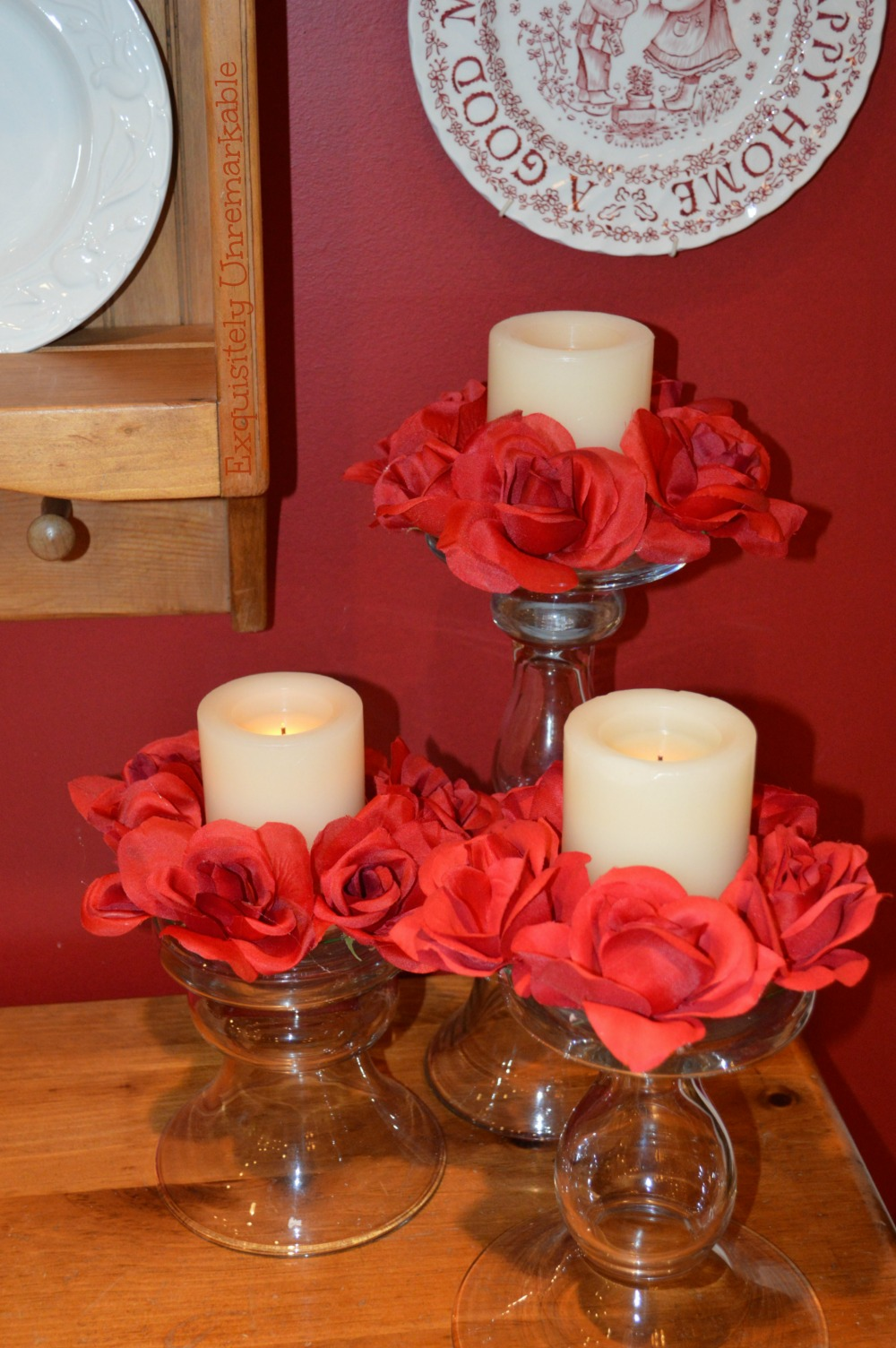 Making Your Own Floral Candle Rings