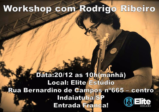 Workshop com Rodrigo Ribeiro