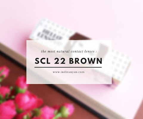 Contact Lenses : SCL 22 Choco*