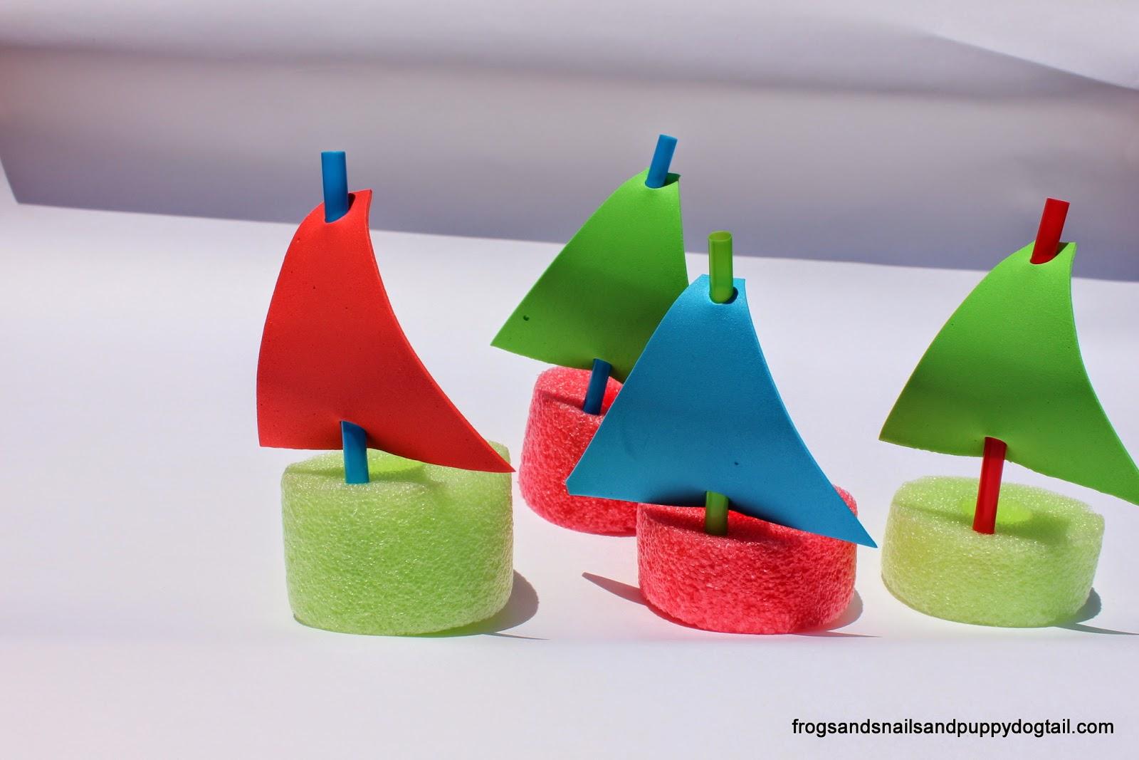 Preschool Boat Themed Crafts