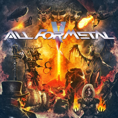 All For Metal 2018 DVD R1 NTSC VO