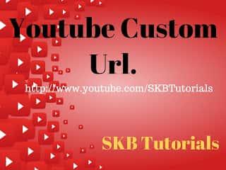 Youtube चैनल में कस्टम Url सेट कैसे करे