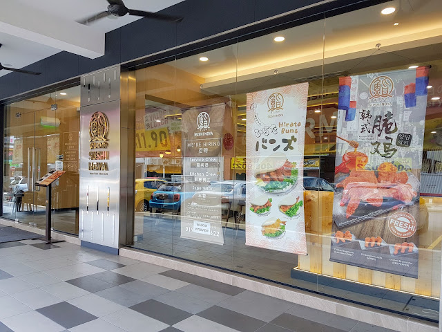 【雪隆美食】平价又好吃的Sushi Noya @ Cheras Traders Square| 久违的拍拖大餐
