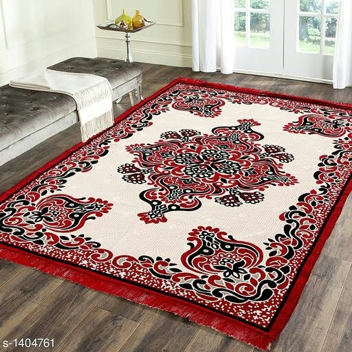 Premium Cotton Printed Room Carpet