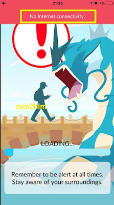 Mengatasi Pokemon Go stuck/macet di loading screen iPhone