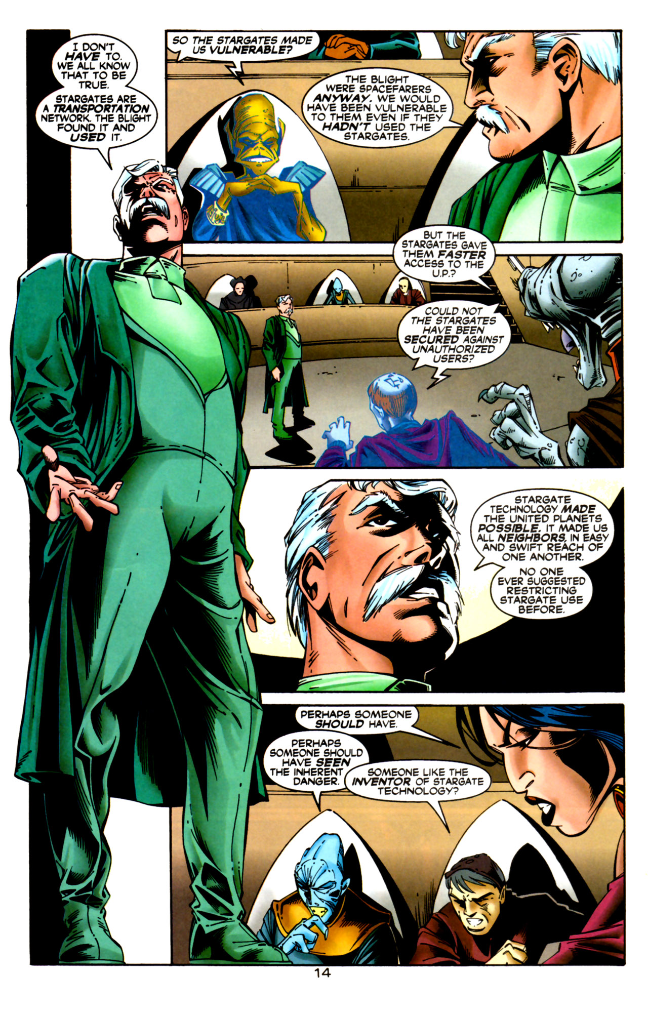 Legion of Super-Heroes (1989) 124 Page 14