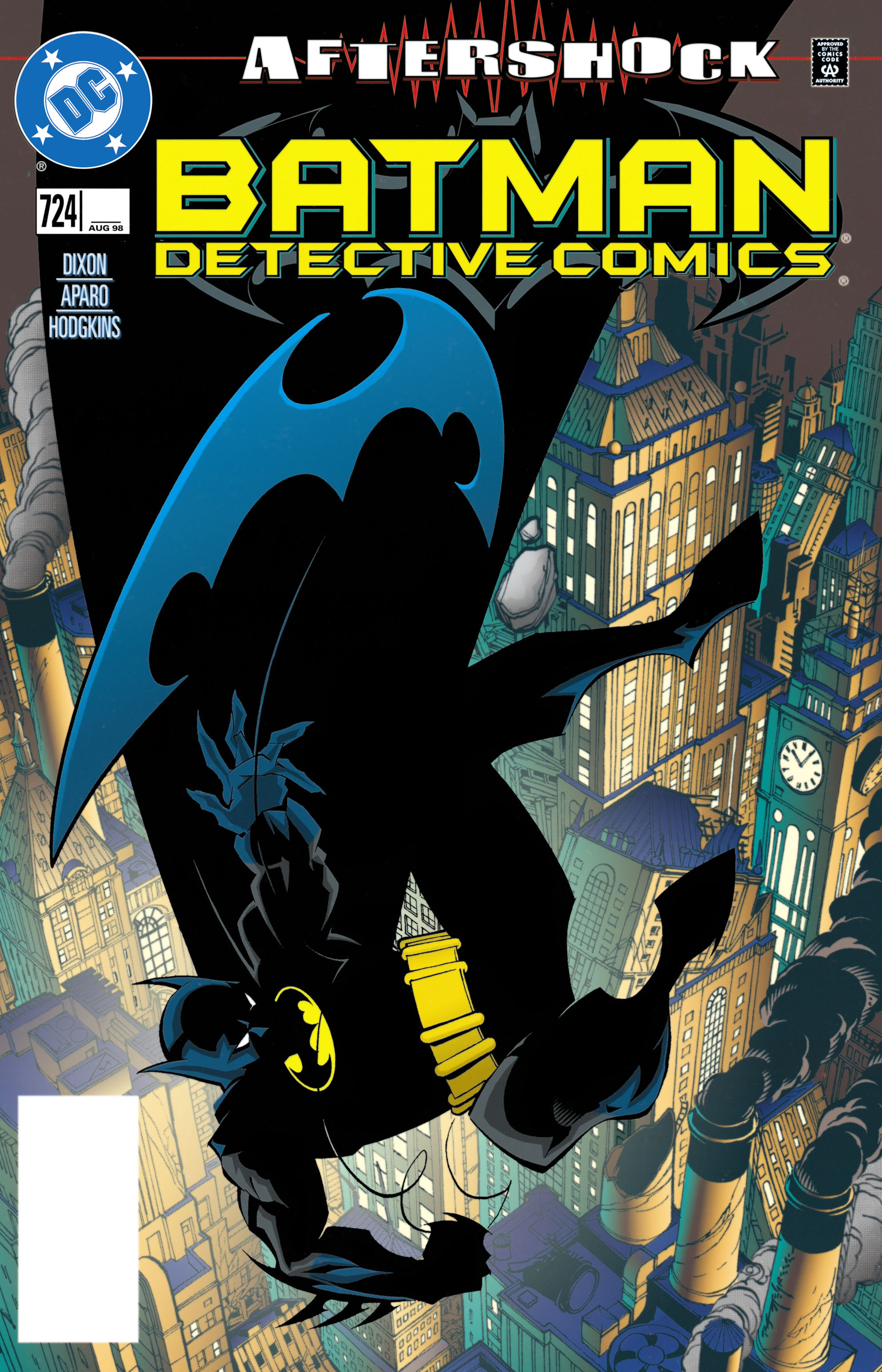 Detective Comics (1937) 724 Page 1