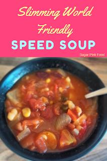 Slimming world speed soup  recipe