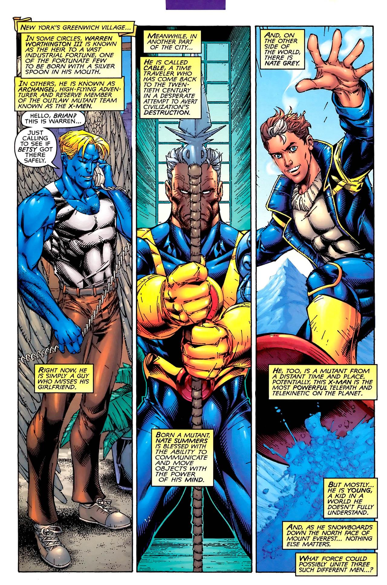 Read online Astonishing X-Men (1999) comic -  Issue #1 - 5